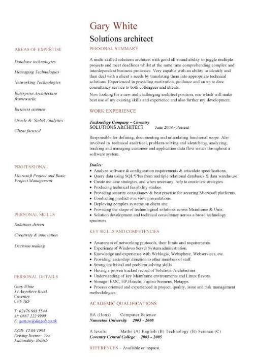 architect resume template architectural intern resume samples