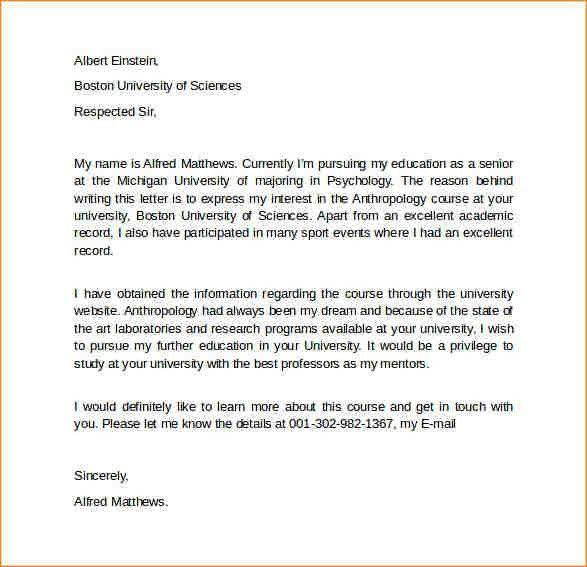 5+ letter of intent sample graduate school | academic resume template
