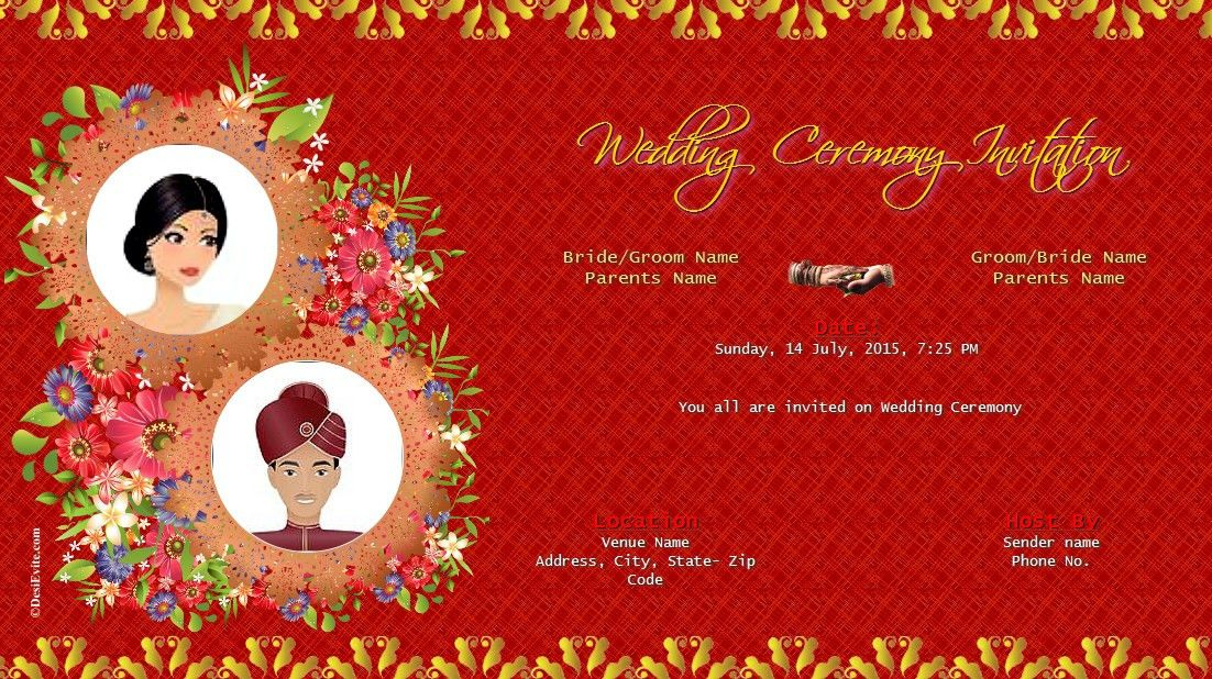 Marriage Card Design Online - Kmcchain.info