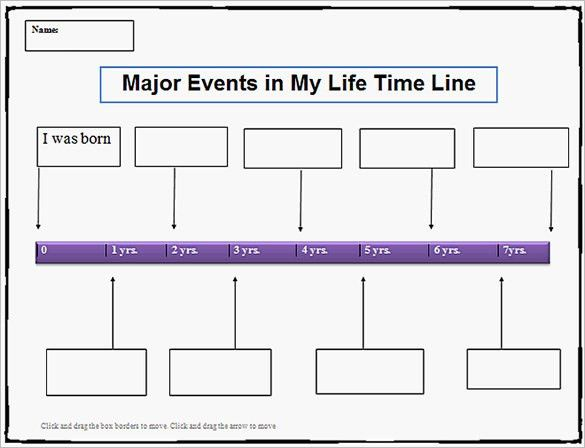 19+ Personal Timeline Templates – Free Word, PDF Format Download ...