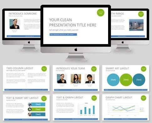 Clean Powerpoint Template | Template Idea