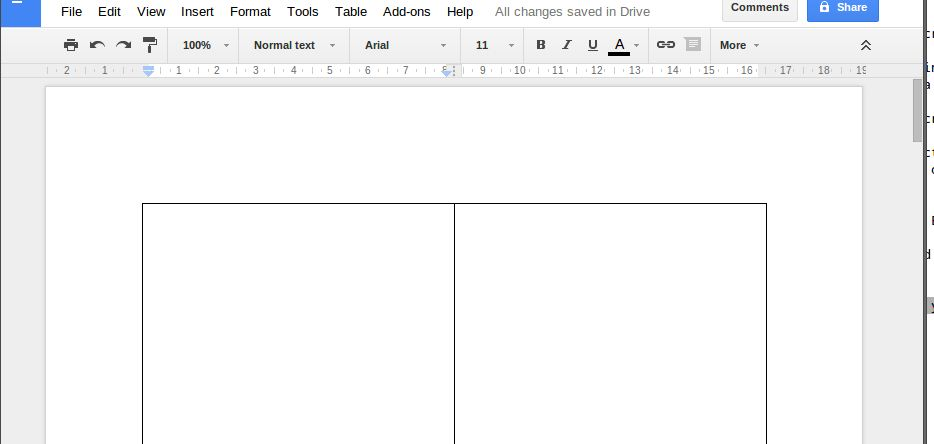 Two-Column Layout in Google Docs | Drive Bunny