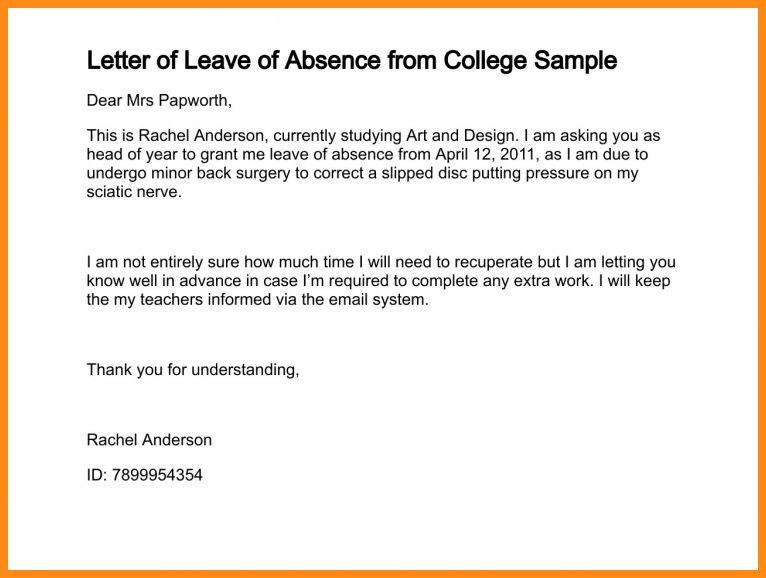 8+ application for leave of absence from work | musicre sumed