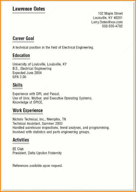 10+ high school student resume for college | Invoice Template Download