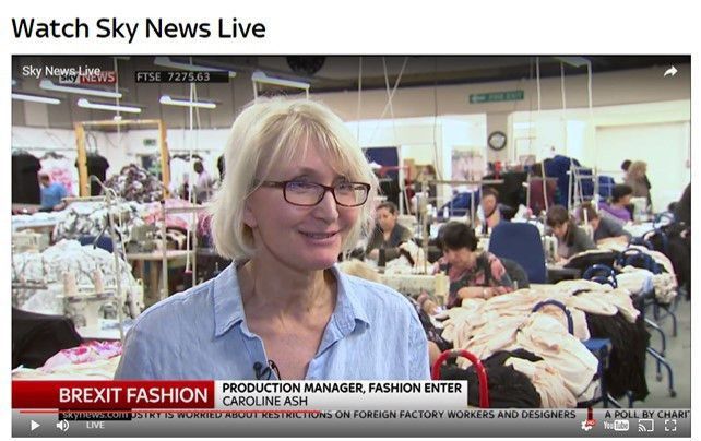 Fashion Enter On Sky News - Fashion Capital