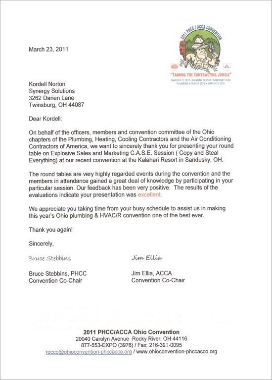 ACCA – PHHC Associations   Kordell Norton, CSP – America''s ...