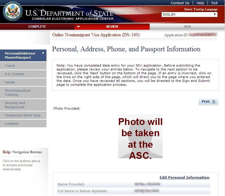 New Digital Photograph Requirements While Filling the US Visa ...