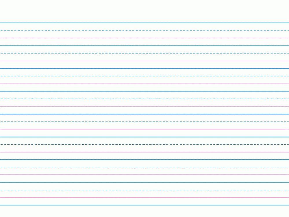 Writing Paper Printable for Children | Activity Shelter
