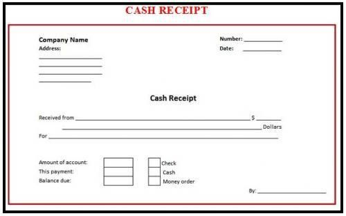 8+ Cash Receipt Templates - Word Excel PDF Formats