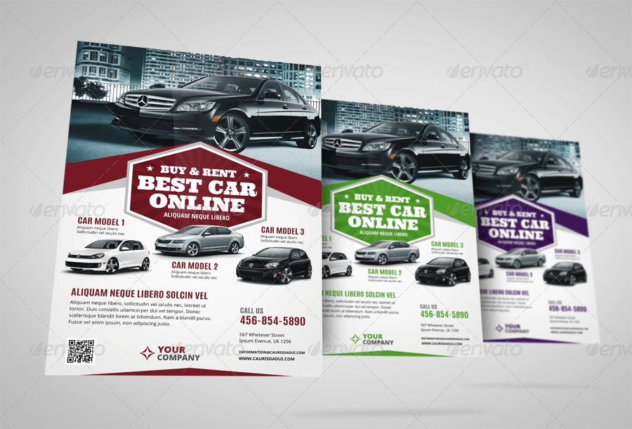 Automotive Car Sale Rental Flyer Ad Vol.6 by Jbn-Comilla ...