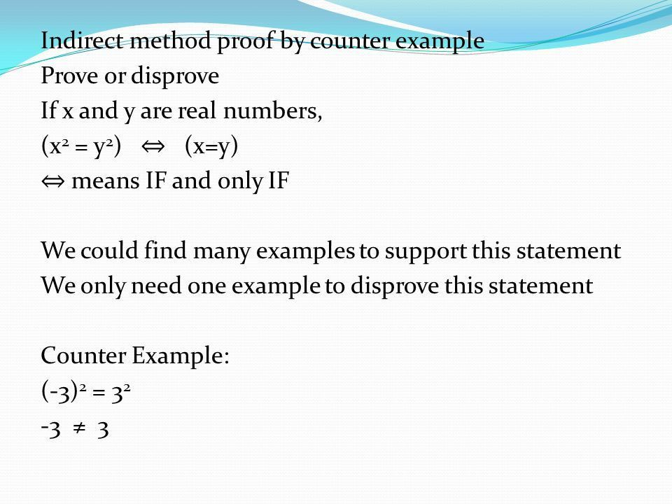 2.3 Methods of Proof. - ppt video online download