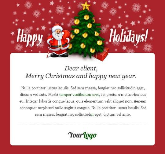 17 Beautifully Designed Christmas Email Templates for Marketing ...