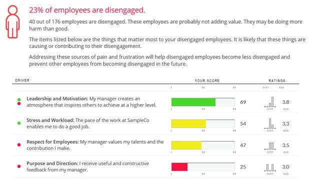 Employee Engagement Survey Dashboard Sample - Understand the ...