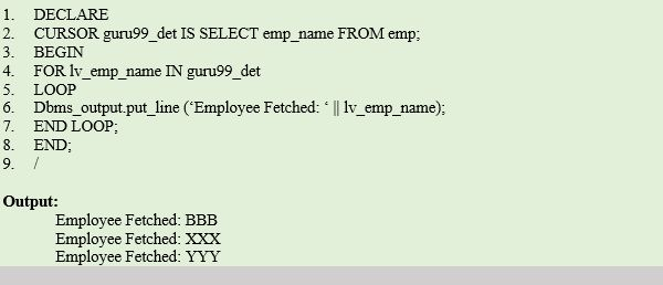 in PL/SQL