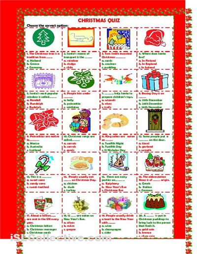 free christmas picture quiz questions and answers - Google Search ...