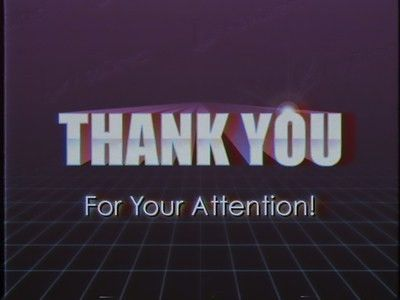 THANK YOU FOR YOUR ATTENTION by Joe Mayo - Dribbble
