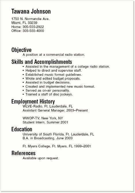 College Student Resume. Current College Student Resume Is Designed ...