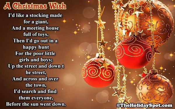 Christmas Poems and Poetry