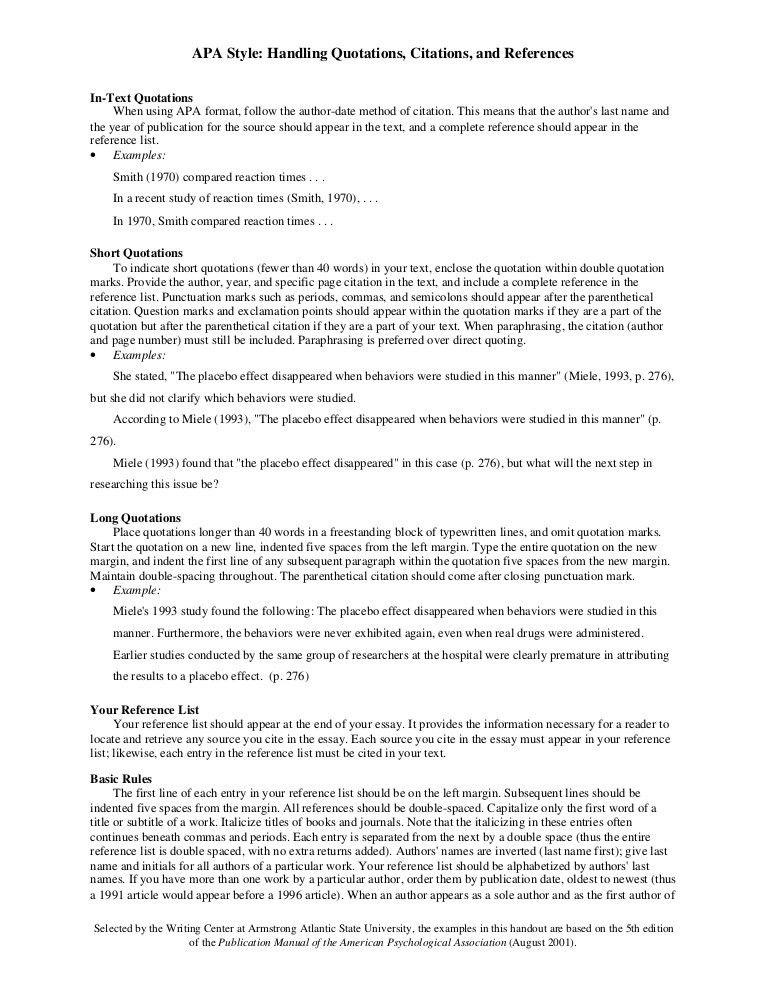 example of apa format citation