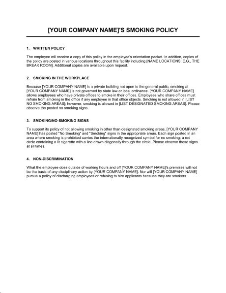 Computer Use Policy - Template & Sample Form   Biztree.com