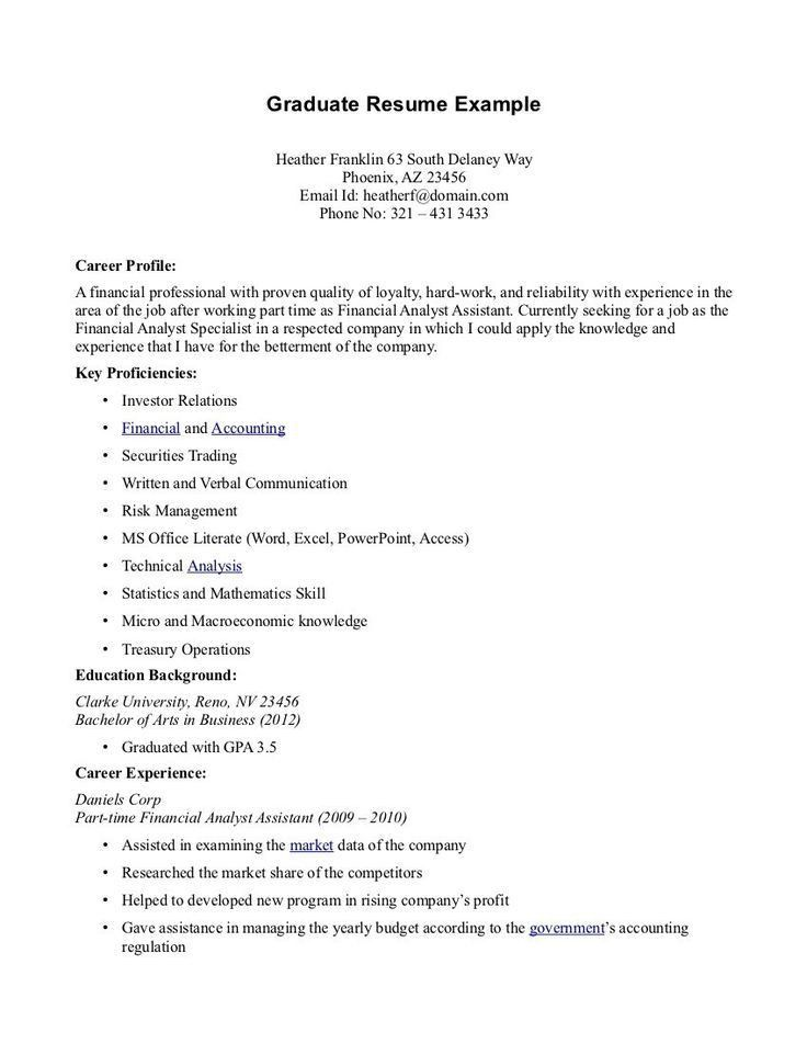 Examples Of Resumes For Jobs With No Experience. Resume Examples ...