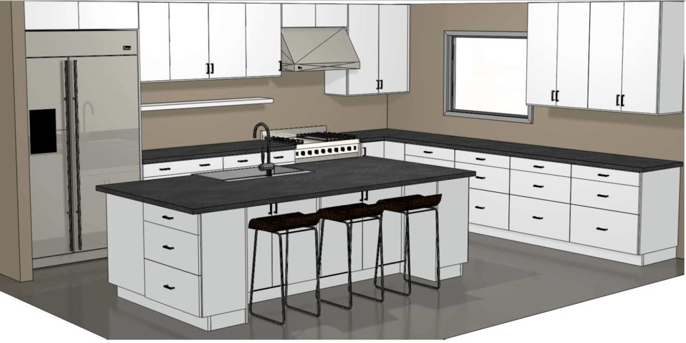 Sample kitchen designs — Cabinets for Modern Kitchens | Affordable ...