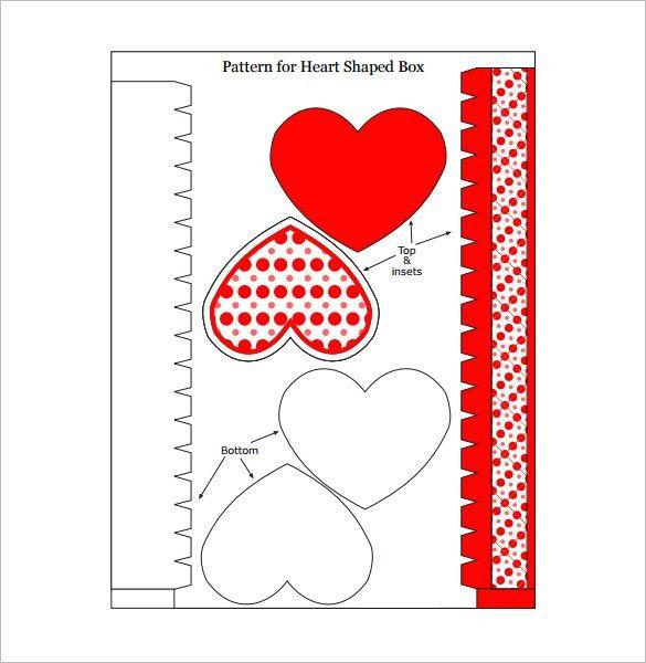 12+ Beautiful Heart Box Templates & Mockups   Free & Premium Templates