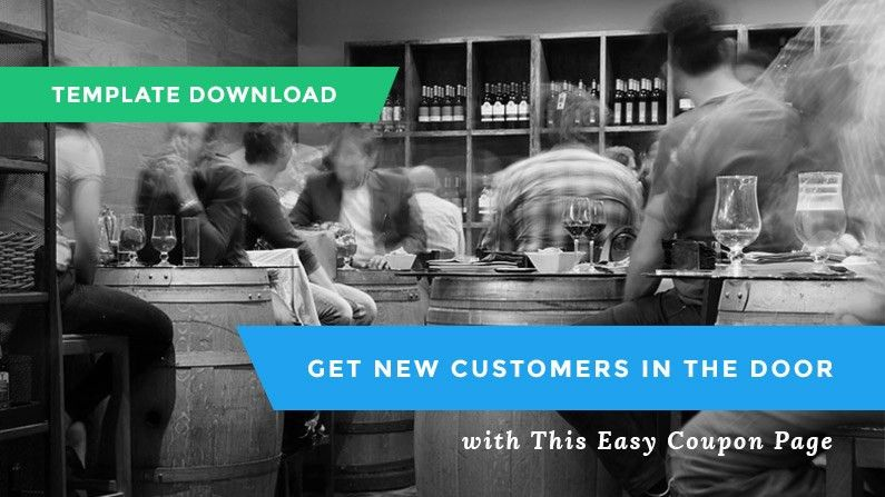 Landing Page Download: Free Coupon Template
