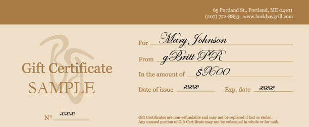 gift certificates forms - thebridgesummit.co