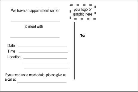 example patient appointment reminder letter. appointment reminder ...