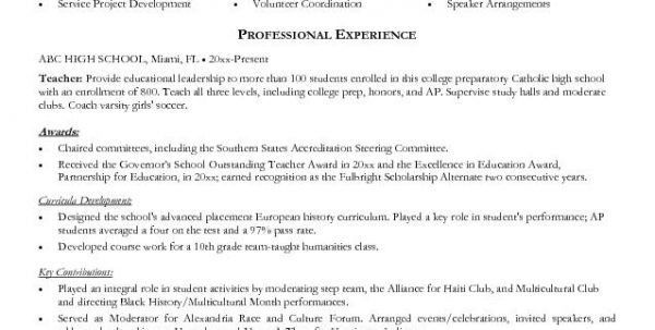 Education Resume Examples of Education Training Sections Resume ...