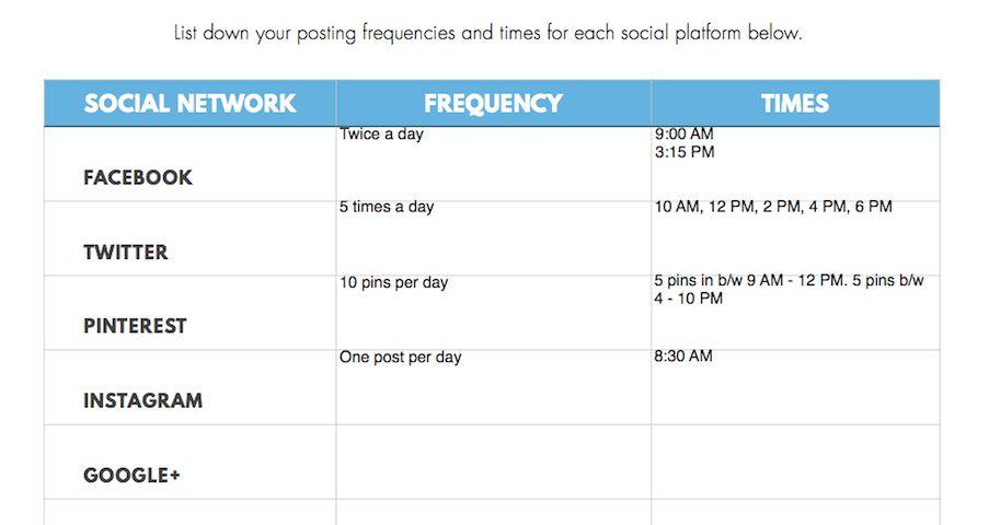 How to Create a Social Media Content Calendar - The 5 Step Guide
