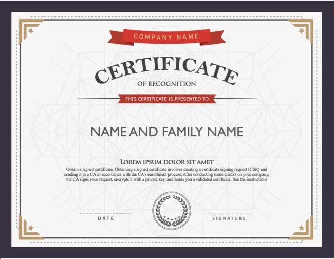 Atmospheric Shading Border English Training Certificate, Diploma ...