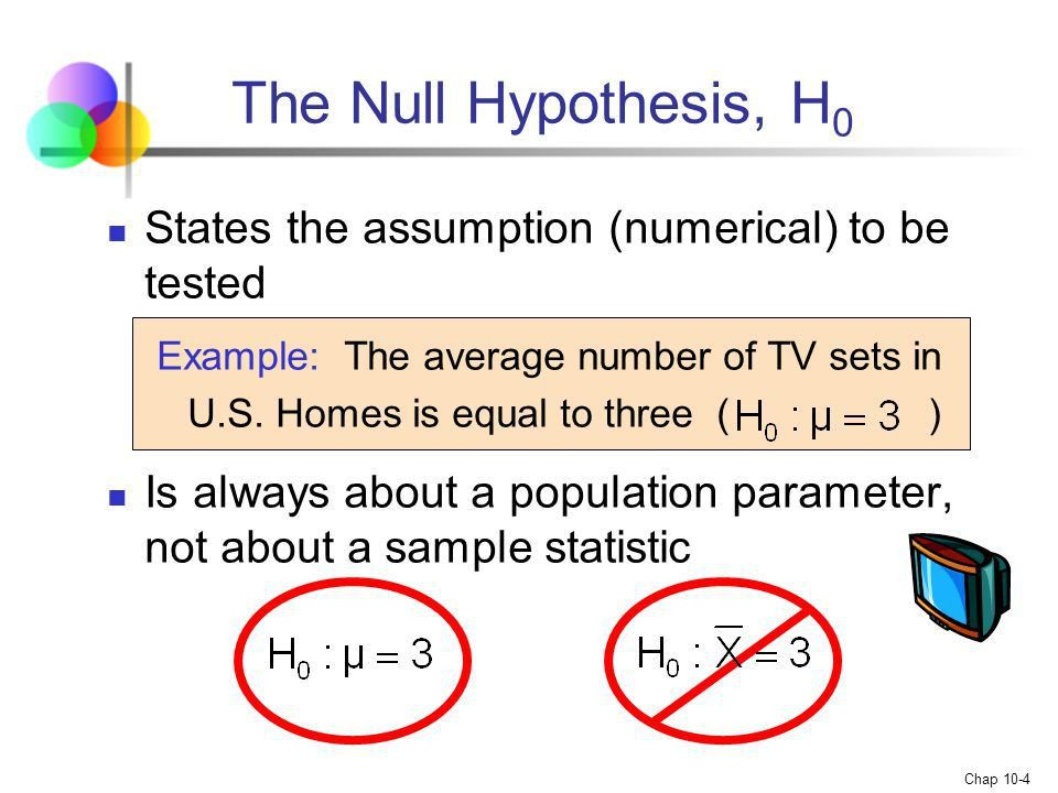 Chapter 10 Hypothesis Testing - ppt video online download