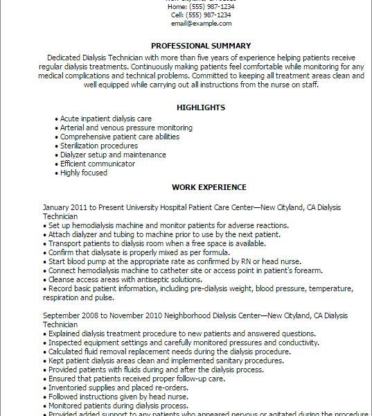 dialysis nurse resume travel nurse resume sample free resume ...