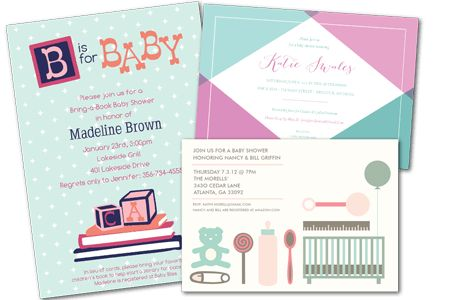 Email Online Baby Shower Invitations that WOW! | Greenvelope.com