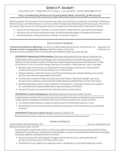 Graduate Resume Package_BrightSide Resumes