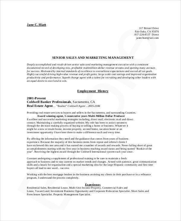 Sales And Marketing Resume. Mba Finance And Marketing Fresher ...