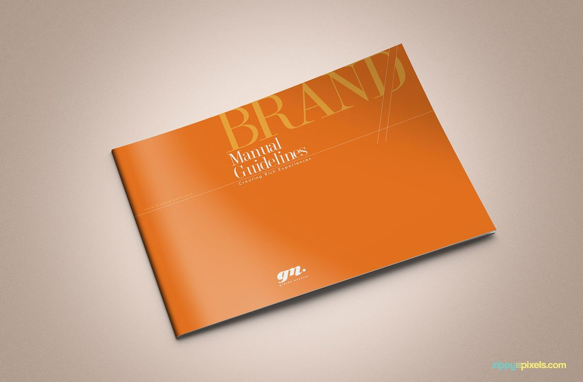High Quality Brand Identity Guidelines Templates | ZippyPixels