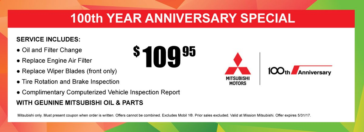 Mission Mitsubishi - San Antonio, TX - Coupons