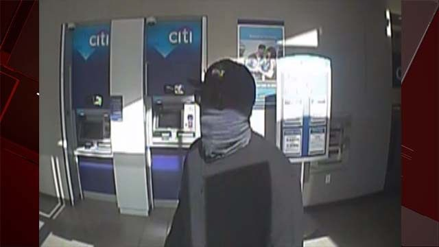 Masked man robs Citibank; surveillance photo released - FOX5 Vegas ...