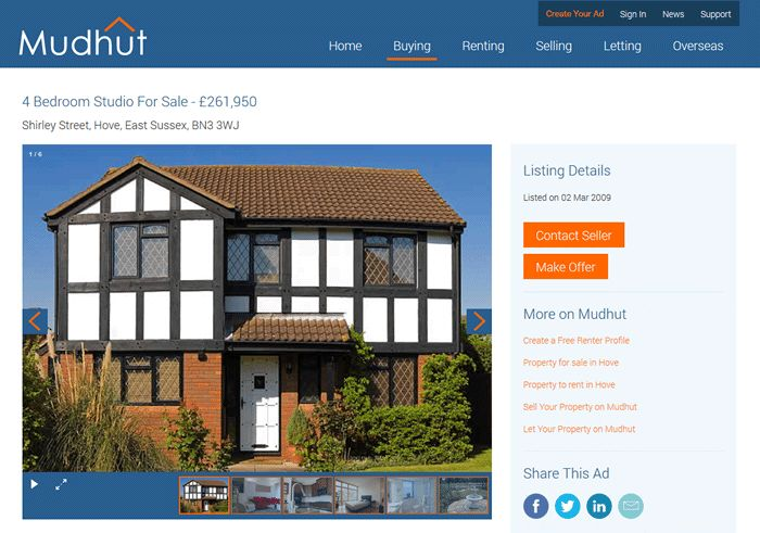 Sell Your Property Online | Mudhut