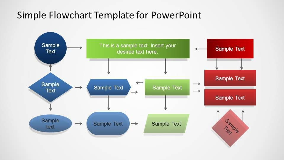 flowchart powerpoint template ultimate tips to make attractive ...