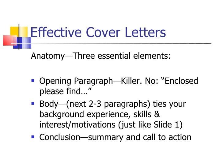Effective Resume and Cover Letter Writing Techniques
