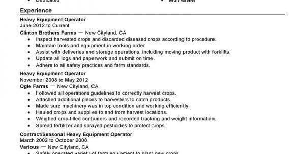 Farming Resume Agriculture Resume Template Resume Template ...
