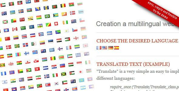 Translate PHP class by christophdb   CodeCanyon