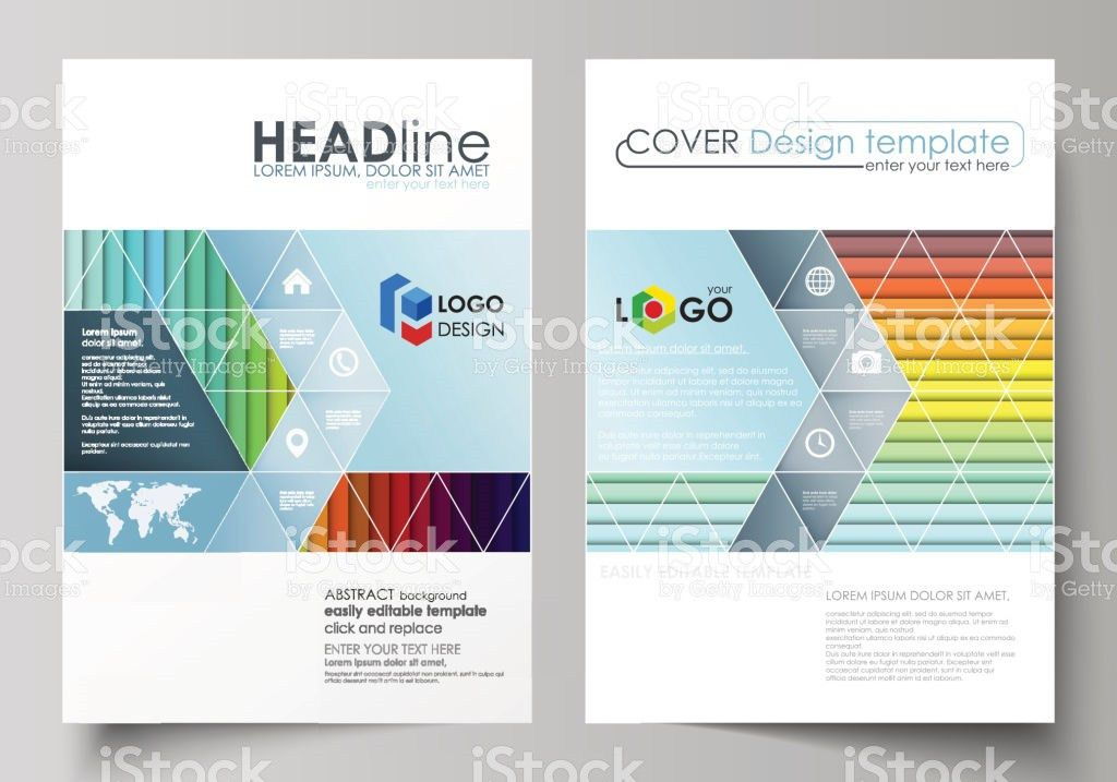 Business Templates For Brochure Magazine Flyer Annual Report Cover ...