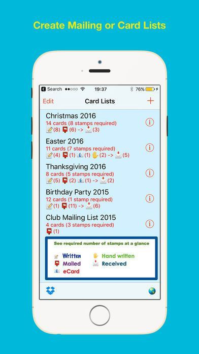 Cardlists Label Printing on the App Store