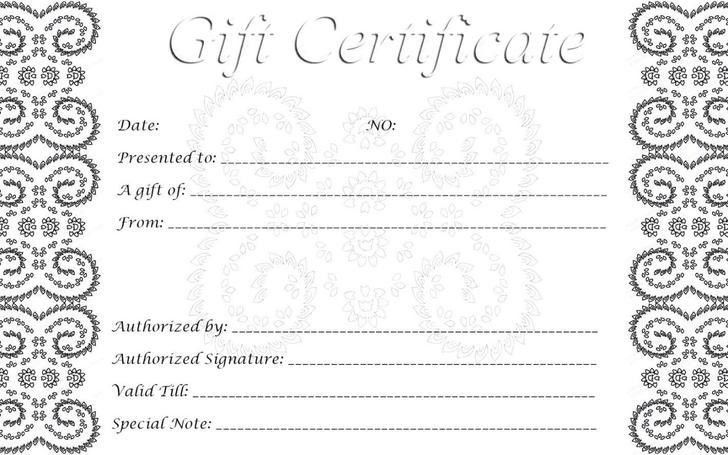 Gift Certificate Template | Download Free & Premium Templates ...