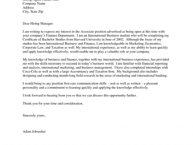 Projects Idea Intern Cover Letter 5 Summer Laser Technician Cover ...